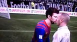 [Clip] Pique v&#224; Benzema h&#244;n nhau?